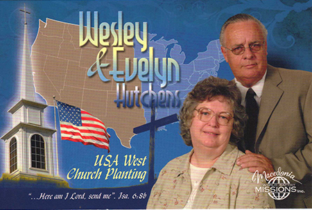 Wesley Hutchens Family-USA West Church Planting